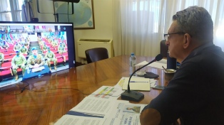 El ministro de Defensa despidió a los Cascos Azules que se suman a una misión en Chipre