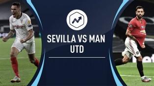 Sevilla venció a Manchester United y es finalista de la Liga de Europa