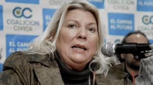 """""""Operativo Puf"""": la defensa de Baratta pide citar a Elisa Carrió"""