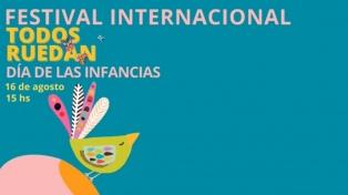 """""""Todos ruedan"""" festeja el Día de las Infancias con música y juegos"""