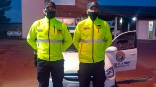 A diario, dos policías recorren en bicicleta 80 kilómetros para ir a trabajar
