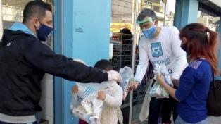El Día de las Infancias fue celebrado por distintos clubes con donaciones y merendadas