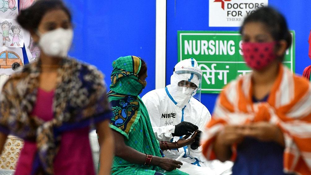 India volvió a batir el récord mundial de nuevos casos con unos 84.000