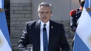 Alberto Fernández encabezará este lunes el anuncio de obras públicas en Pilar