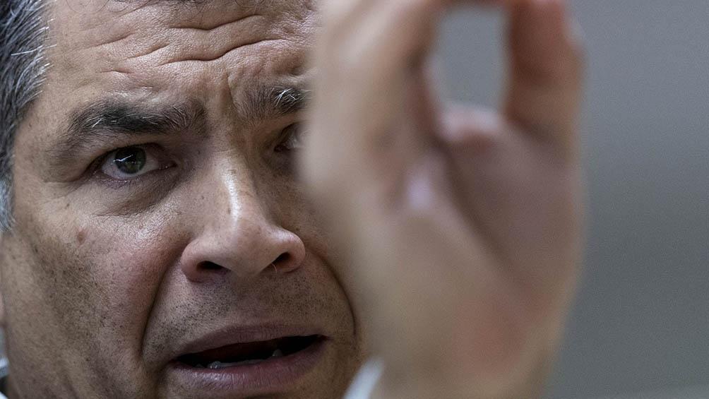 Correa gobernó entre 2007 y 2017