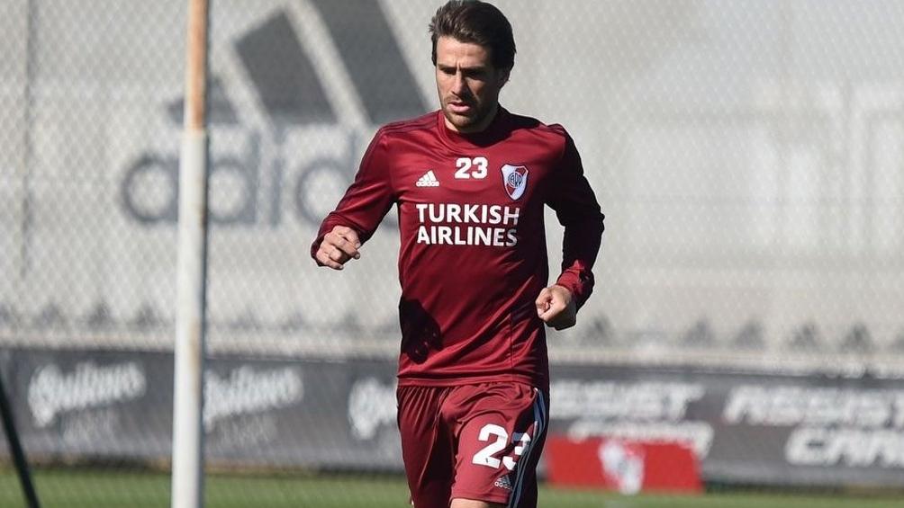 Ponzio ya vislumbra el final de una carrera futbolística identificada con River