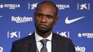 Barcelona despidió a su secretario técnico Éric Abidal