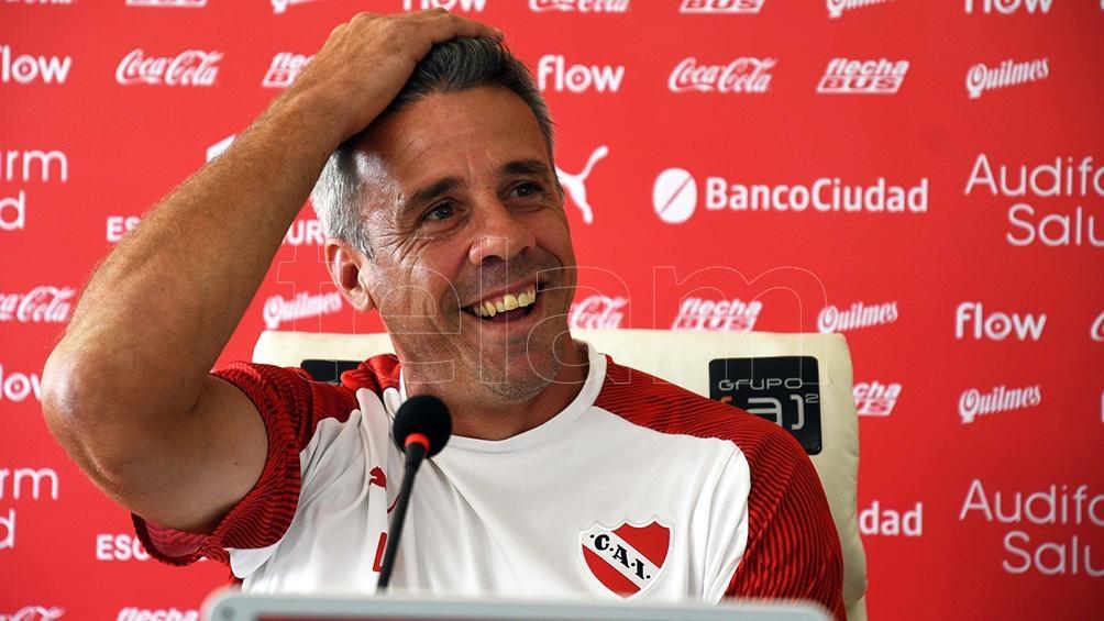 """Pusineri sonríe, fue ratificado en el """"Rojo"""" por un año más"""
