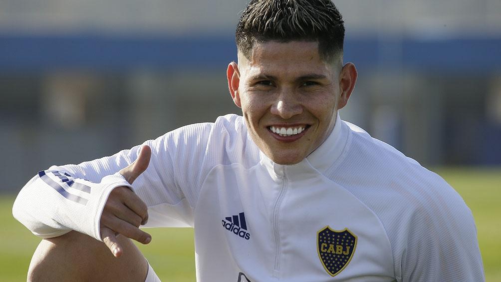 Campuzano ingresaría por Capaldo, de cara al debut por la Copa Liga Profesional de Fútbol (archivo)