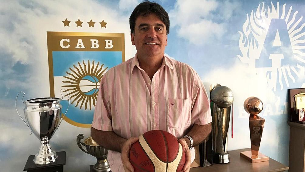 Carlos Spellanzón regresa a la estructura de la CABB como Director Nacional de 3x3 (foto CABB)