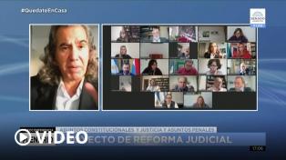 Querellantes en causas de lesa humanidad piden retoques al proyecto de reforma judicial