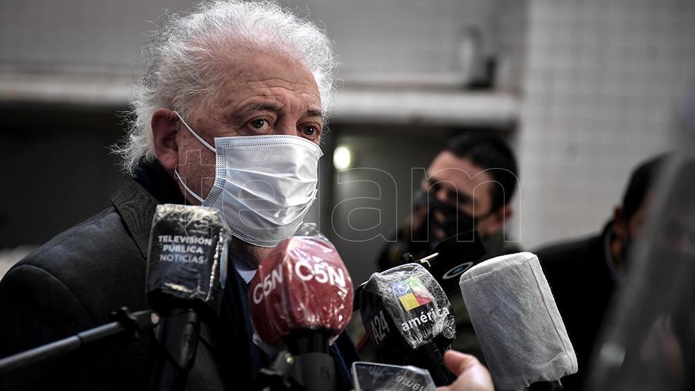 González García dijo que hay que evitar aquí los rebrotes