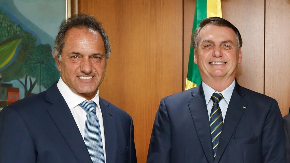 """Scioli: """"La voluntad es trabajar juntos con Brasil y superar los desencuentros"""" - Télam - Agencia Nacional de Noticias"""