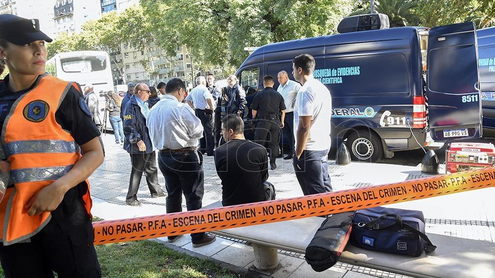 El doble crimen del diputado Héctor Olivares y su asesor Miguel Yadón, fue en mayo de 2019 en la plaza ubicada frente al Congreso de la Nación