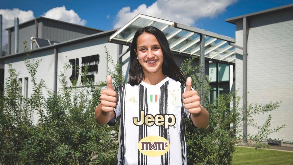 Dalila Ippolito, la mediocampista de 18 años del seleccionado argentino, fichó con la Juventus