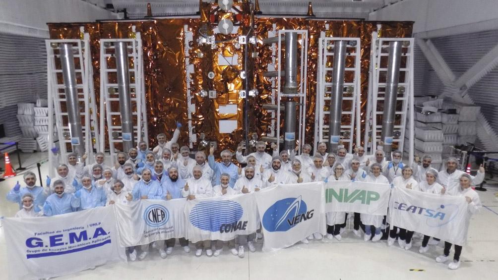 Retomaron las pruebas para poner en órbita el satélite SAOCOM 1B a ...