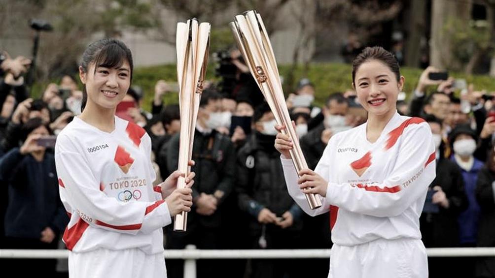 La salida de la llama olímpica de los Juegos de Tokio se hará sin público