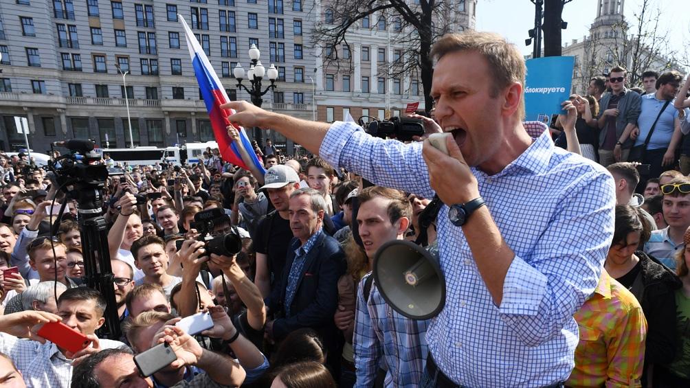 El opositor Alexey Navalny es objeto de múltiples procedimientos judiciales.