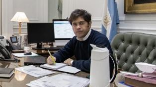 """Kicillof calificó de """"proeza"""" la reestructuración de la deuda"""