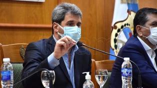 """El gobernador Sergio Uñac fue internado con coronavirus, pero está """"bien y trabajando"""""""