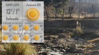 """Las bajas temperaturas se explican por la masa de aire con """"características polares"""""""