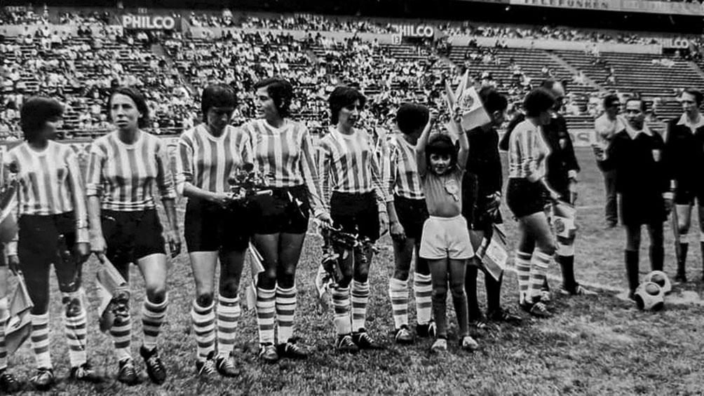 El Día de la Futbolista se festeja por los cuatro goles de Selva a Inglaterra en 1971