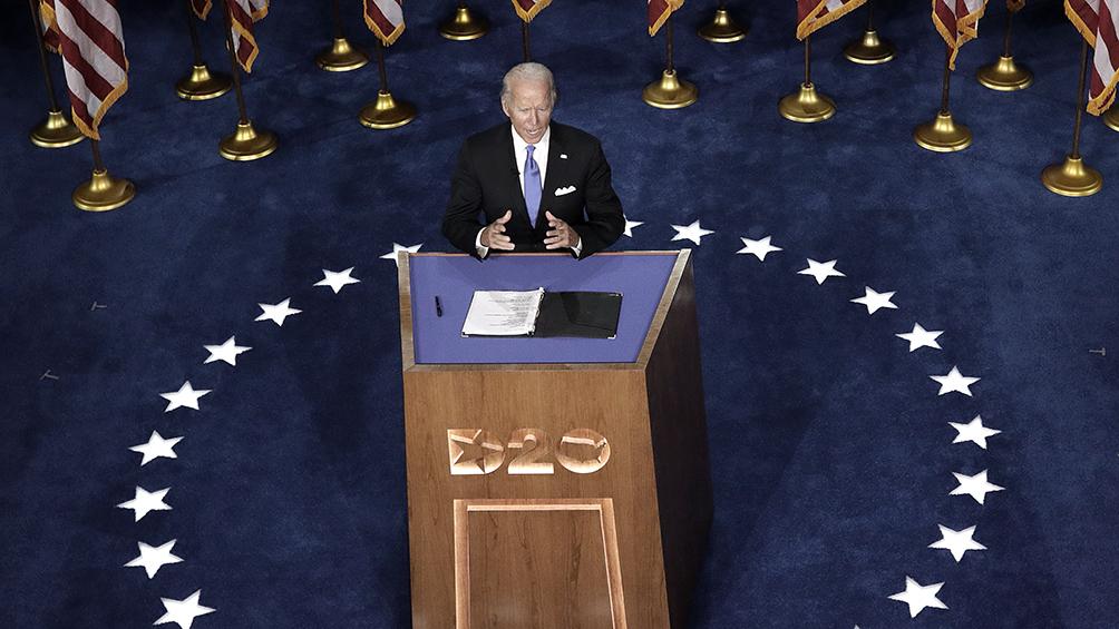 Biden se corona como la esperanza opositora para poner fin al Gobierno de Trump