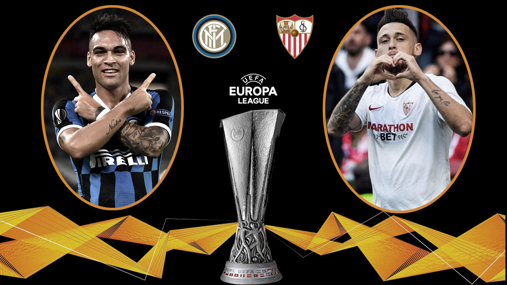 Inter y Sevilla definen al campeón de la Liga de Europa
