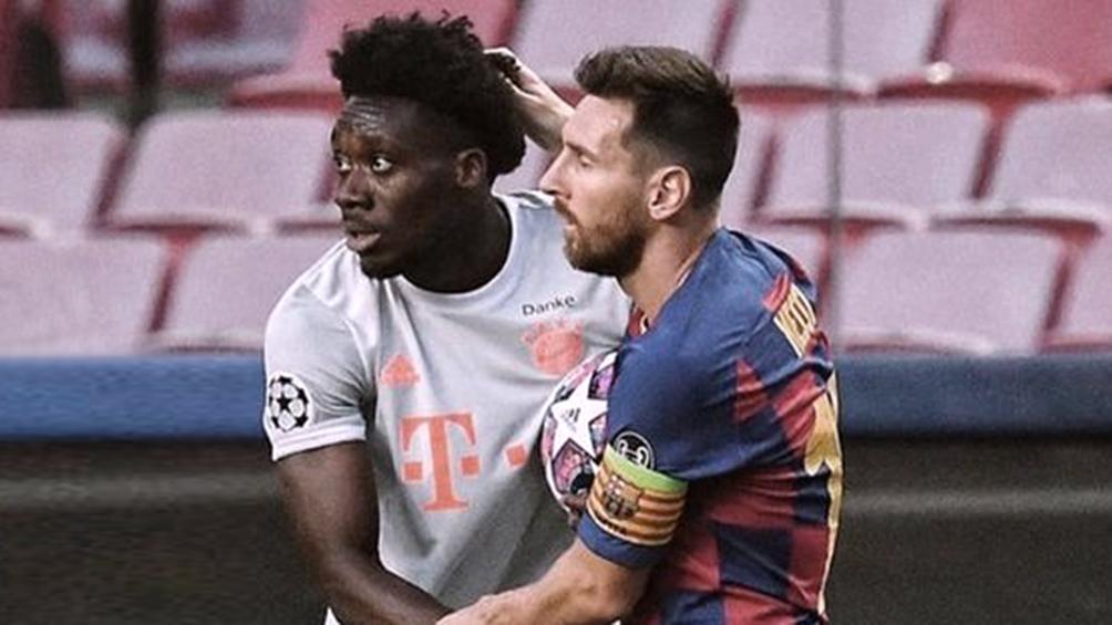 Messi no quiso cambiar la camiseta del