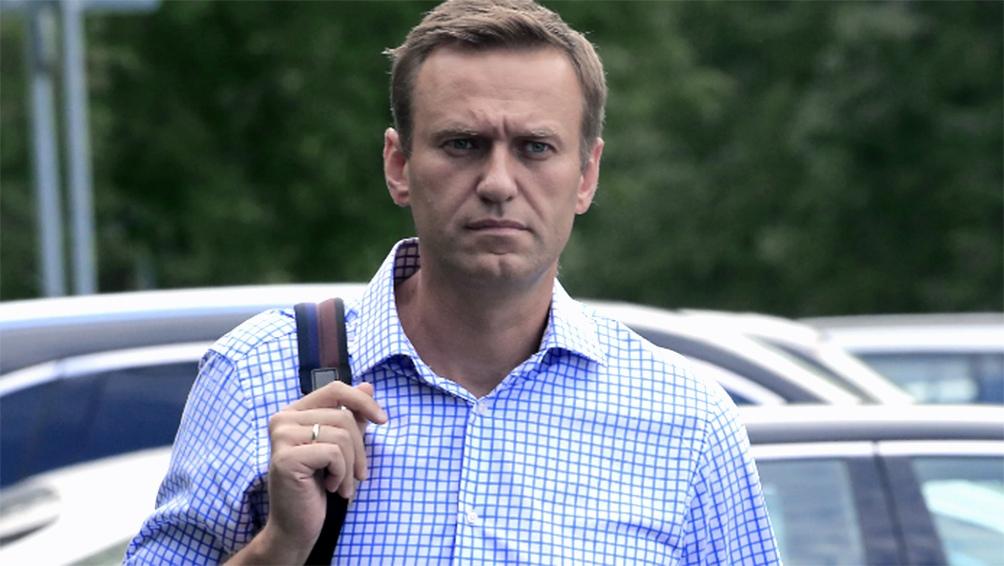 Navalny fue detenido al regresar a Rusia