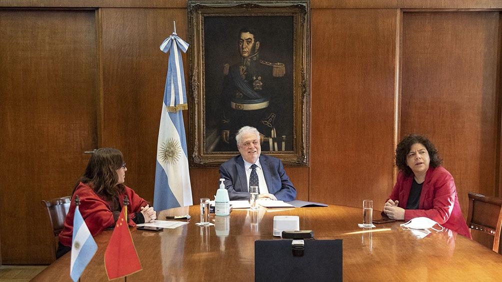El anuncio se realizó en una ceremonia en la que participaron autoridades de Argentina y China.