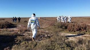 Encuentran más restos óseos en el lugar donde el sábado pasado hallaron un cadáver
