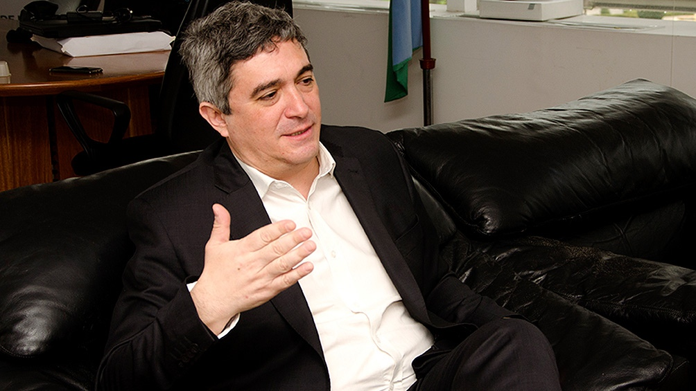 """El ministro de Desarrollo Agrario bonaerense, Javier Rodríguez, dijo que """"la producción ganadera está estancada en los 3 millones de toneladas anuales hace muchísimo tiempo""""."""