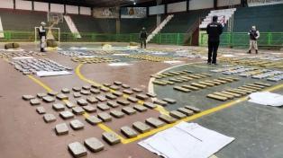 Secuestran más de 770 kilos de marihuana que eran trasladados desde Paraguay