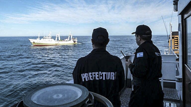 El Gobierno nacional trabaja para evitar y neutralizar la pesca ilegal en el Mar Argentino