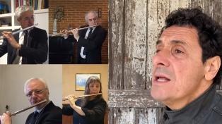 Ricardo Mollo cantó un clásico de Cerati en un tributo a los trabajadores de la salud