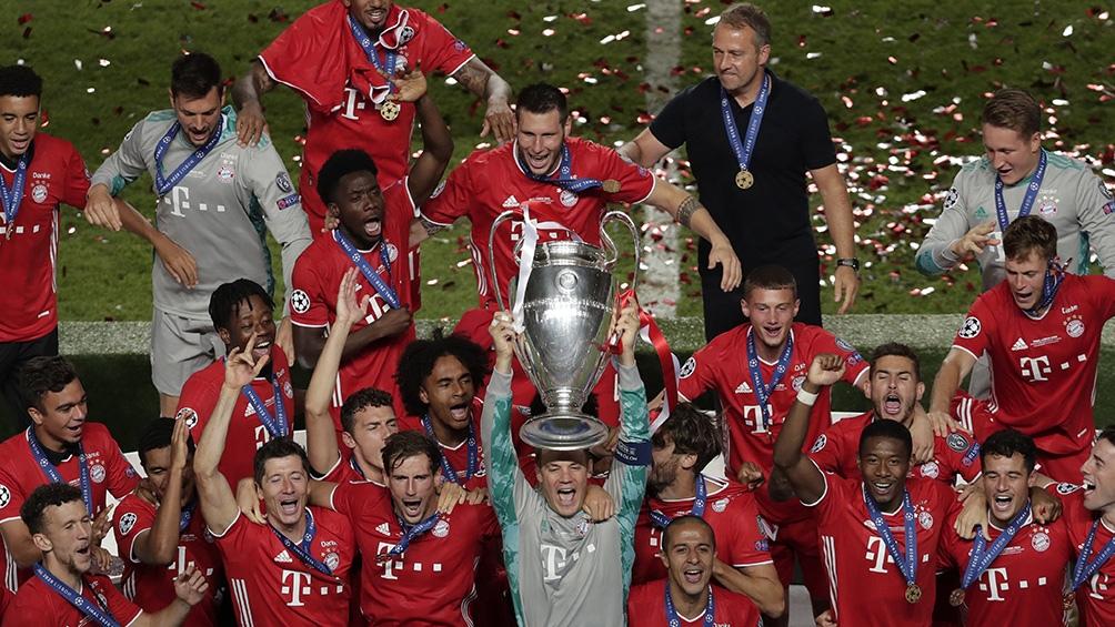 Los alemanes representarán a Europa en el Mundial de Clubes de Qatar