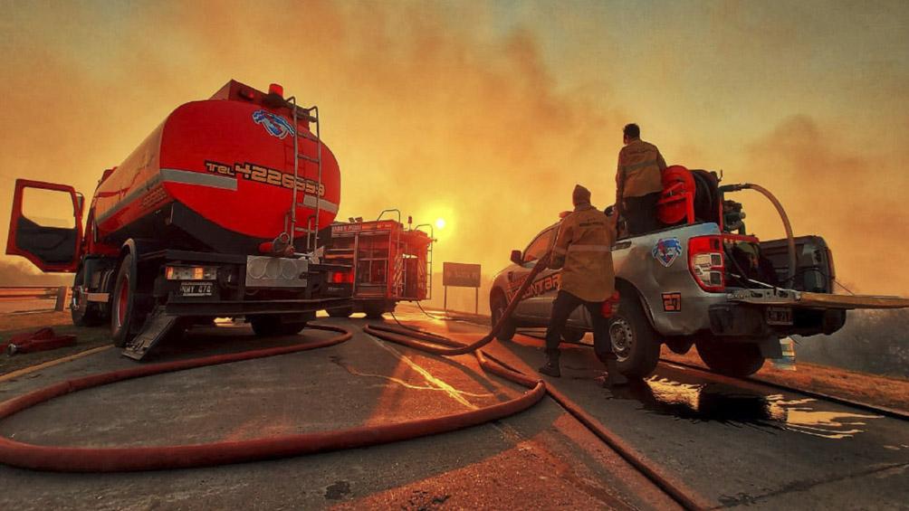 El Gobierno emitirá desde hoy partes diarios sobre los incendios en las provincias