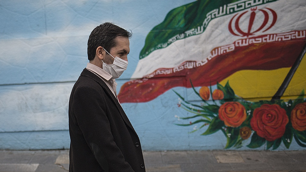 Irán reportó hoy 3.204 casos de coronavirus en las últimas 24 horas