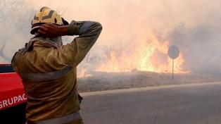 Fernández llamó a Schiaretti para anunciarle apoyo nacional para combatir los incendios