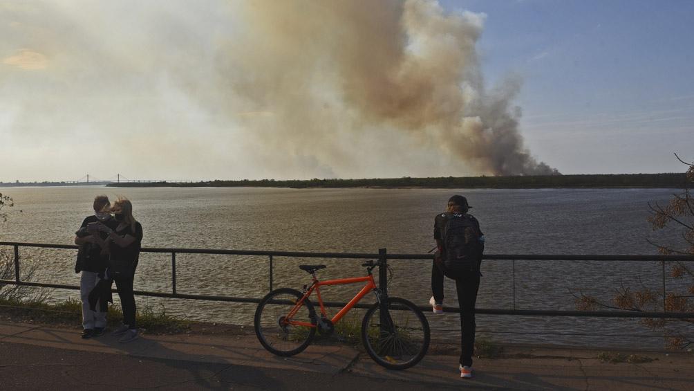 La superficie afectada por incendios reportados entre el 1 de enero y el 8 de agosto fue de 135.162 hectáreas.