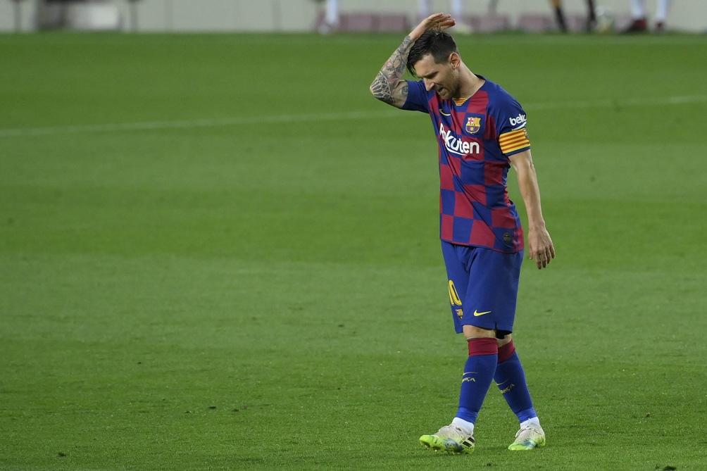 Messi, después de 20 años, no está ligado al Barcelona. Aunque sería por unos pocos días (AFP).