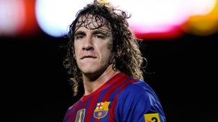 """Puyol dijo que no quiere que """"Messi se vaya del Barcelona"""""""