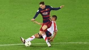 """Messi y sus enfrentamientos ante clubes argentinos con la camiseta """"culé"""""""