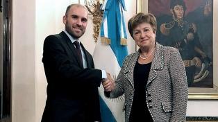 """Se necesitan dos para bailar un tango"", dijo Georgieva sobre la negociación con Argentina"