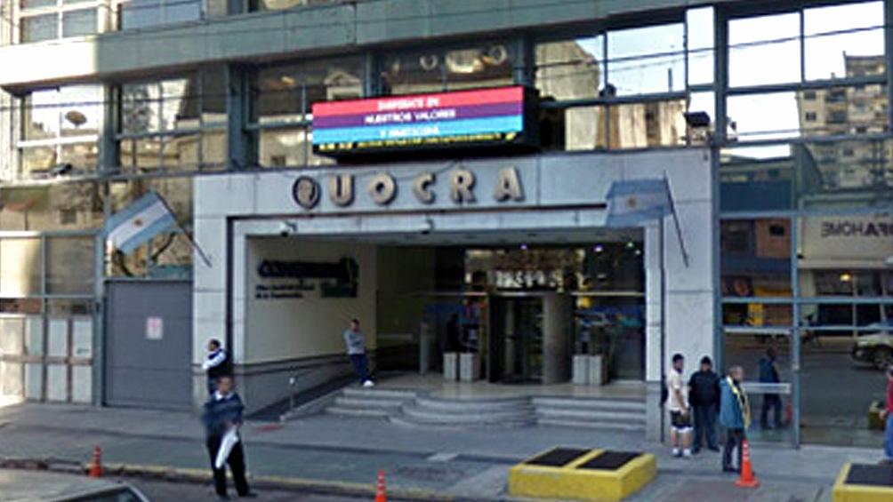 La cita es en la sede de la Uocra.