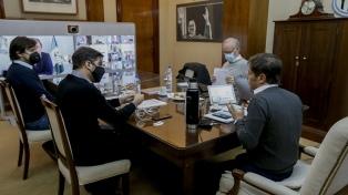 """Kicillof se reunió con intendentes del AMBA y reiteró que es necesario """"controlar la movilidad"""""""
