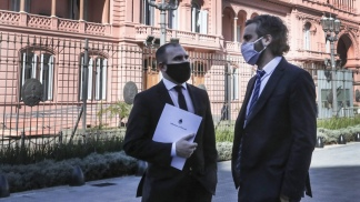 Martín Guzmán y Santiago Cafiero