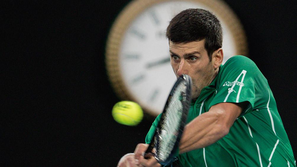 El serbio Djokovic va por la final en Cincinnati