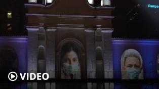 El Cabildo se ilumina para honrar a la cultura de la solidaridad